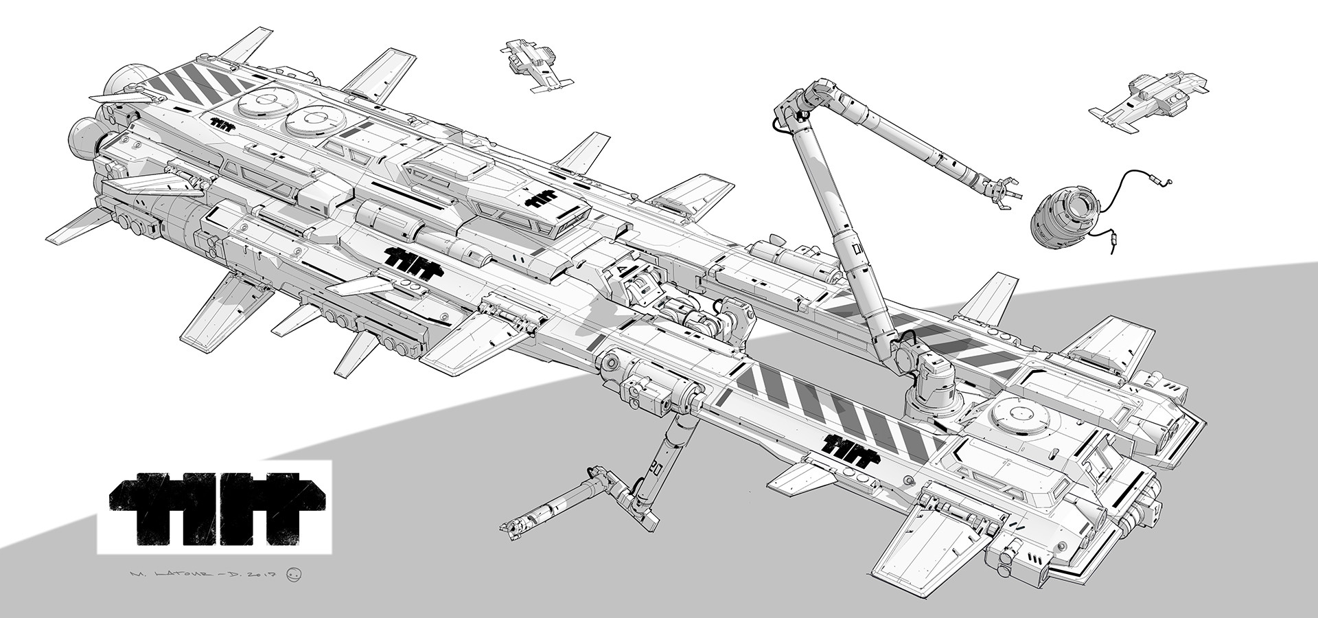 Mathieu latour duhaime spaceship01lines