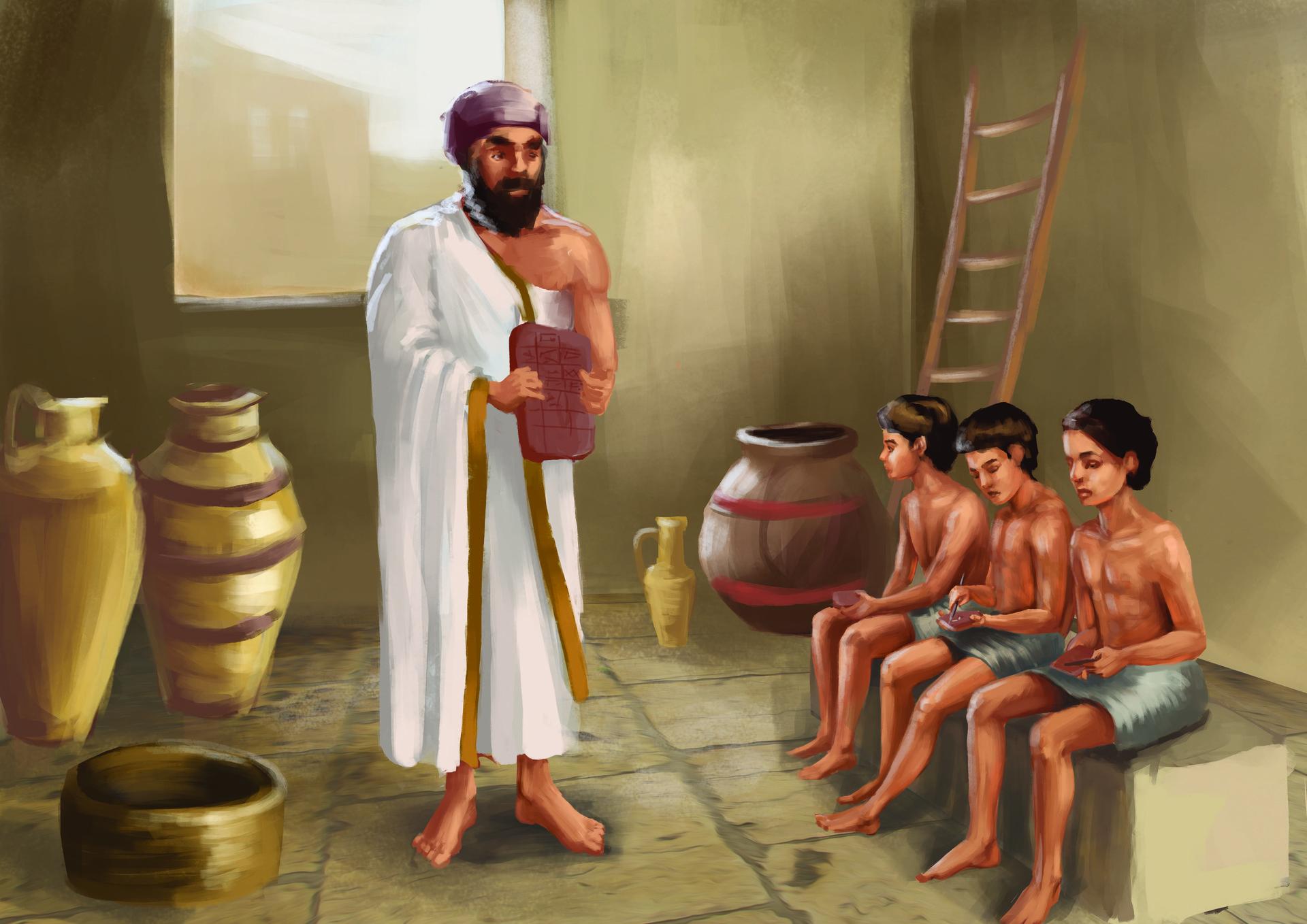 Gabriela shelkalina escuela mesopotamia