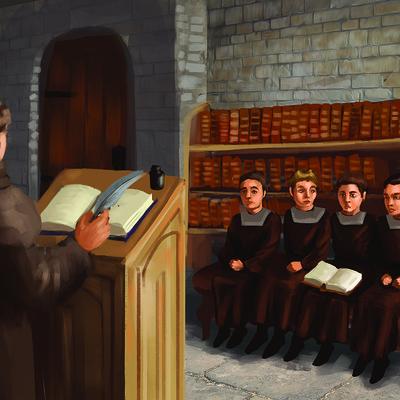 Gabriela shelkalina escuela medieval