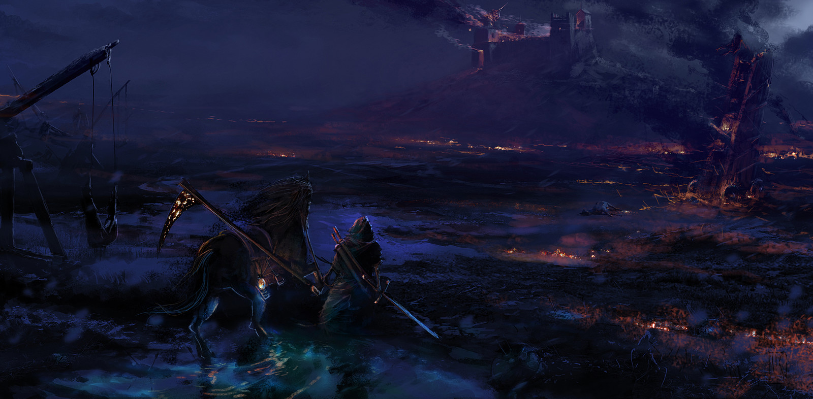 After the battle (Night)