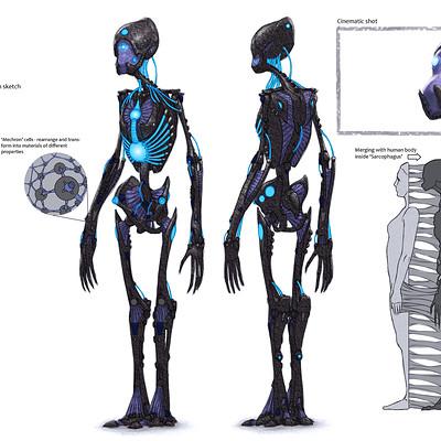 Nikolay asparuhov godsent mechron minion concept