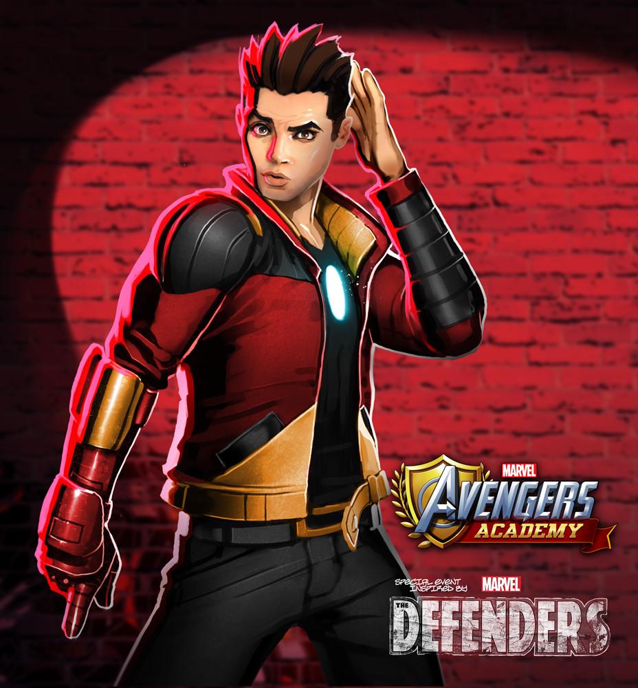 Tony Stark detail by me.