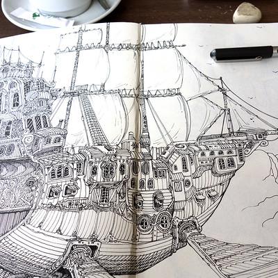 Roch marcorelles nubian bateau 1