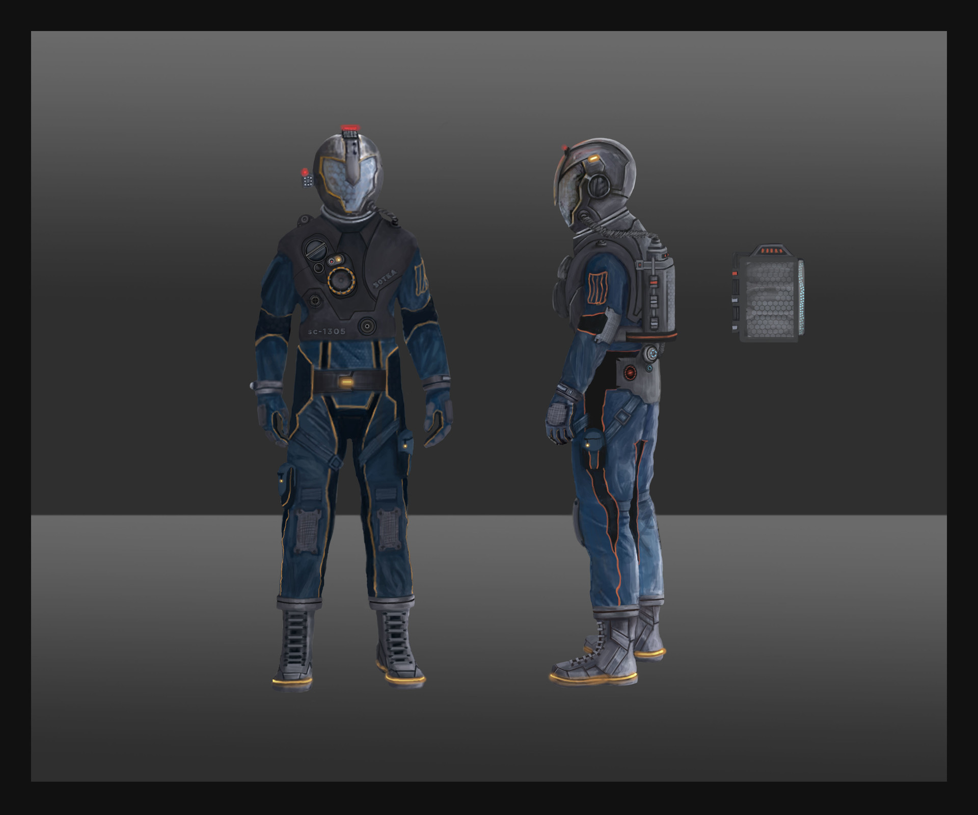 Sara mahmodi spacesuit concept
