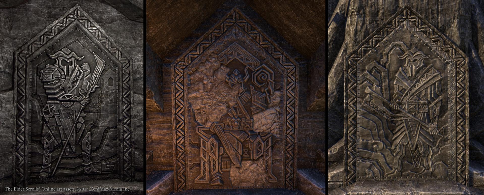 Wrothgar bas reliefs