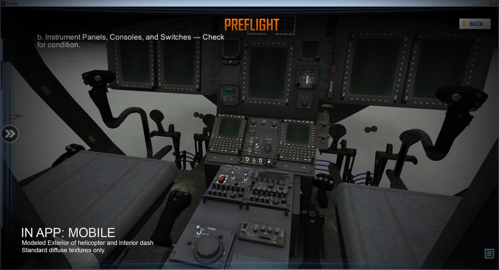 CH-47 Interior