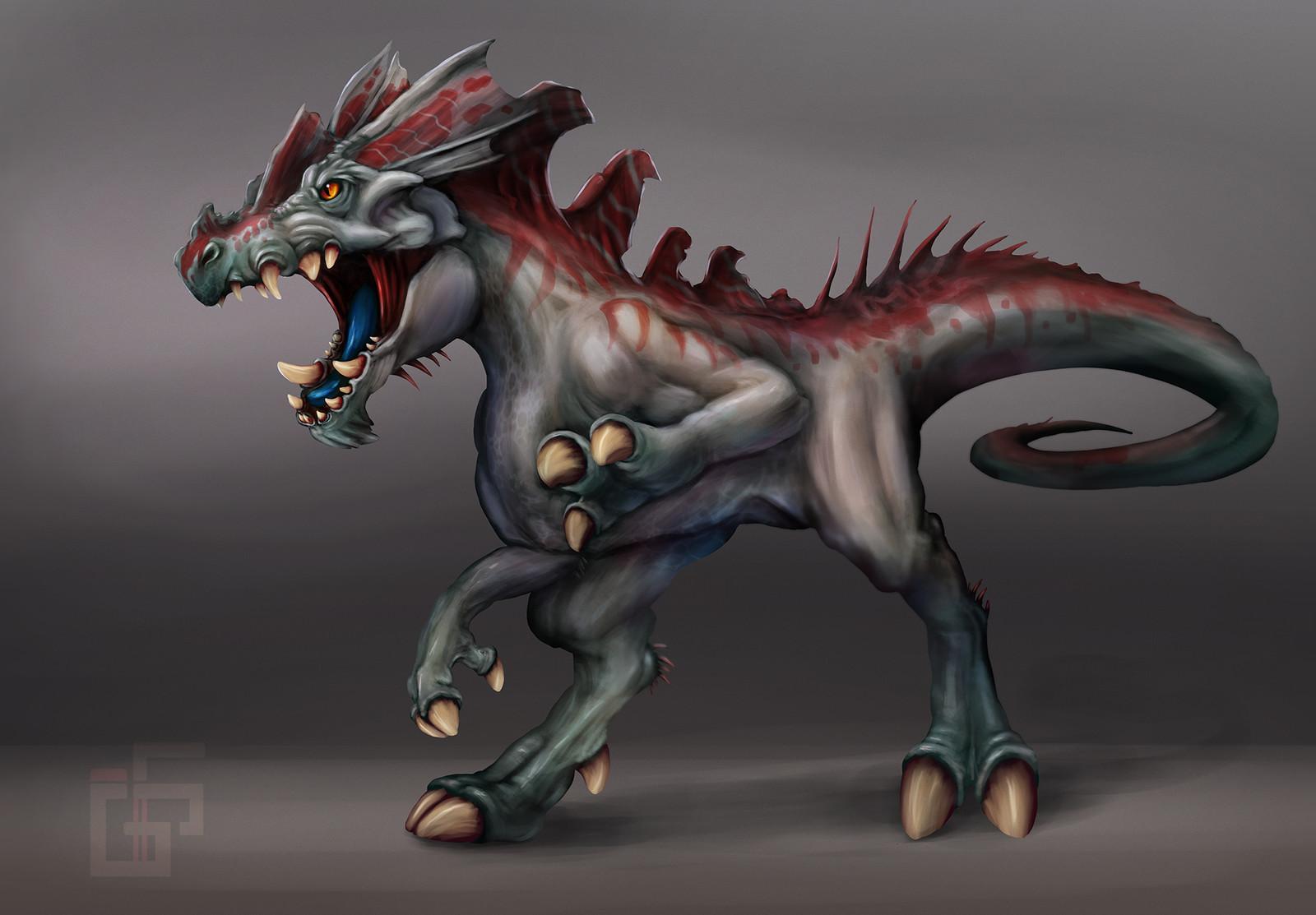 Creature Design Dino