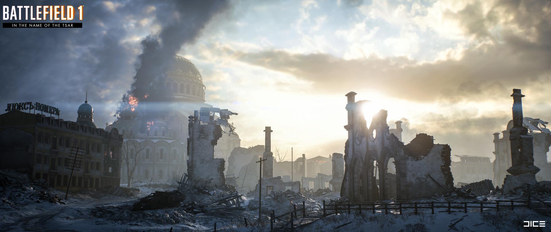 Artstation Battlefield 1 In The Name Of The Tsar Tsaritsyn