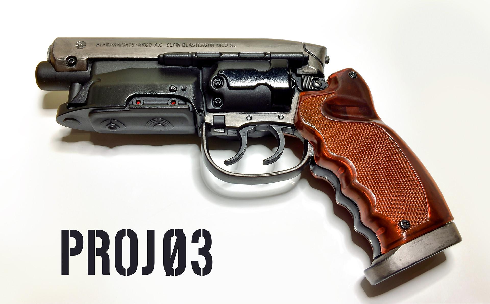 ArtStation - Blade Runner Water Gun Conversion, James Ma