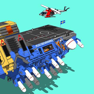 Swedish Coastguard Hovercraft