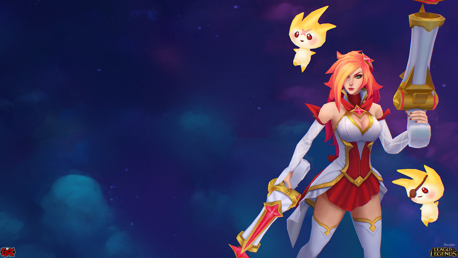 Artstation Star Guardian Miss Fortune And Soraka Yekaterina