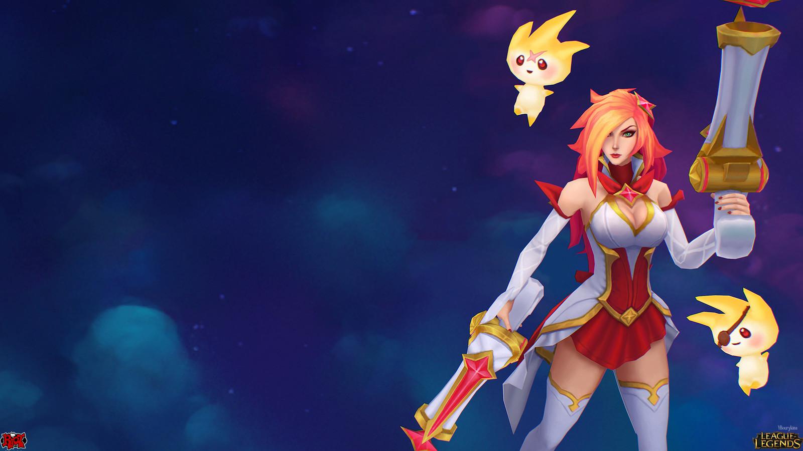 Star Guardian Miss Fortune - League of Legends skin - LoL Skin