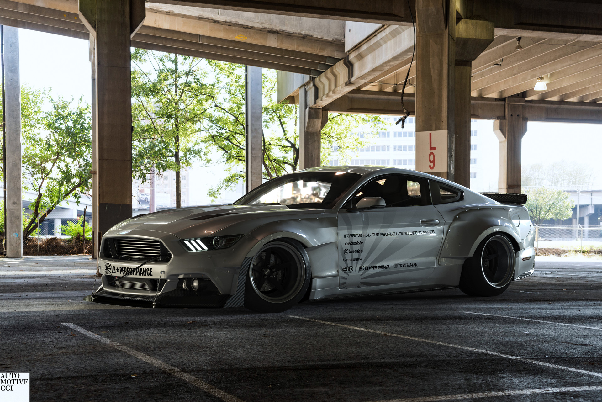 Zoki Nanco Nancorocks Znr3d Ford Mustang Liberty Walk