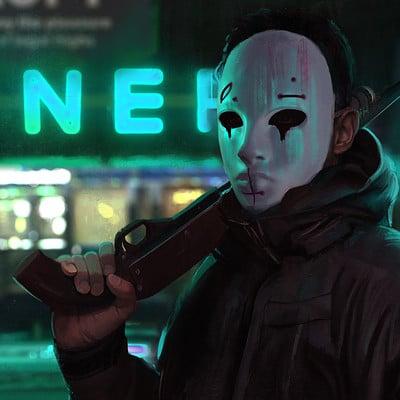 Tony skeor maskman