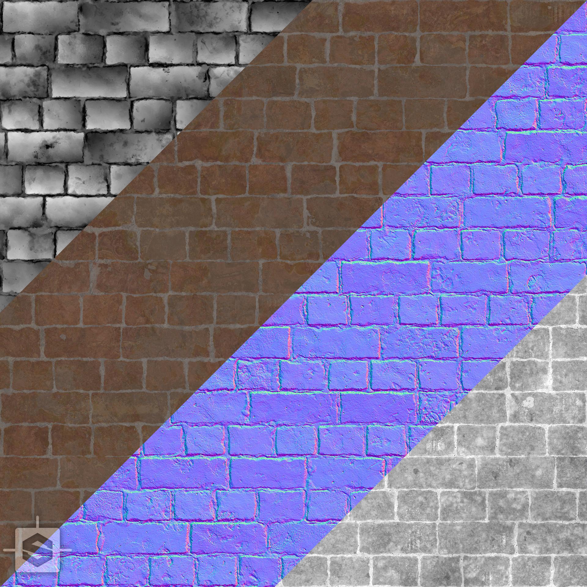 Ryan leslie brick texture