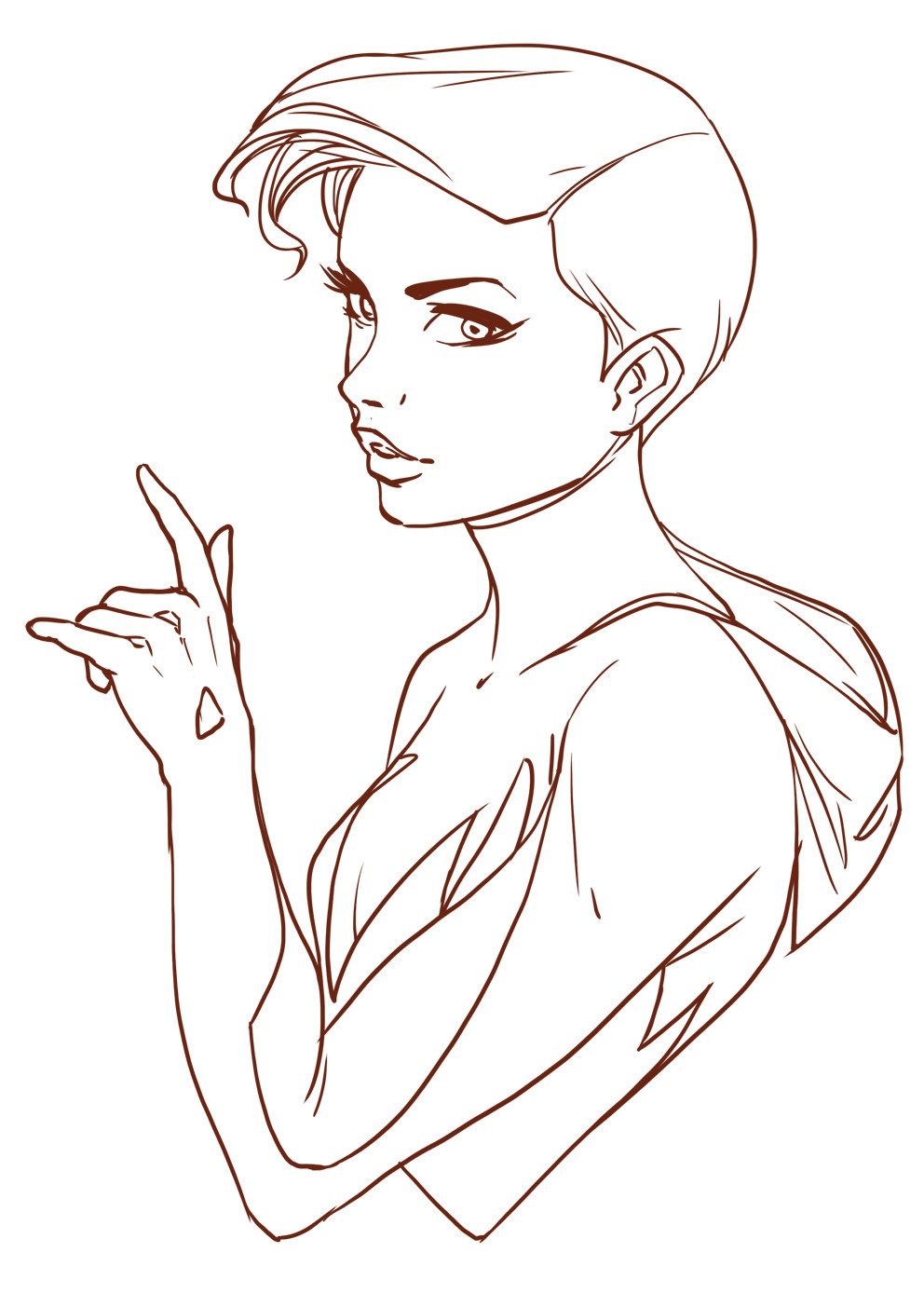 Heri irawan torso spider woman b