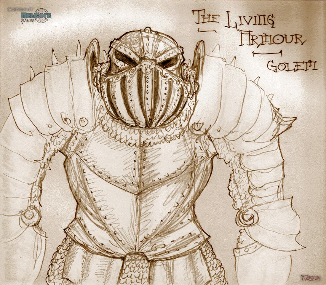 Living armour