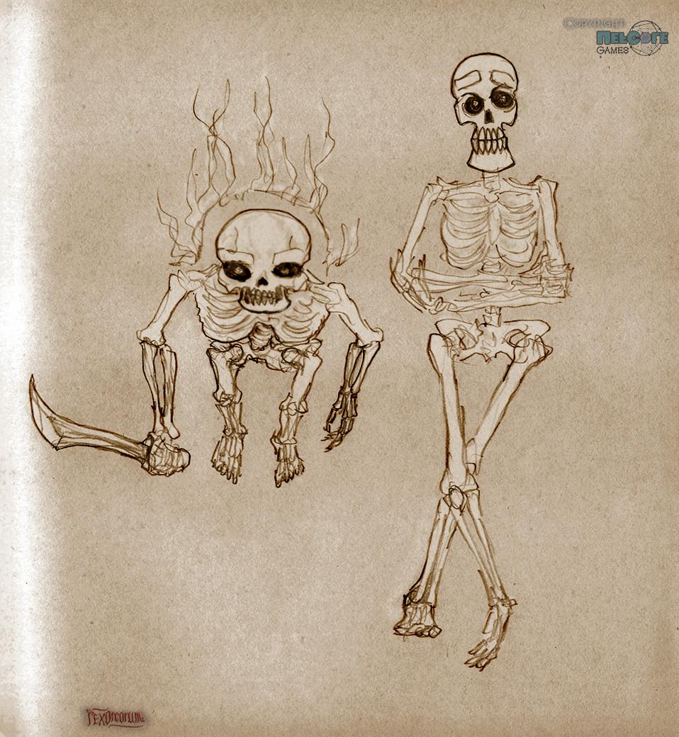 Skeleton dudes