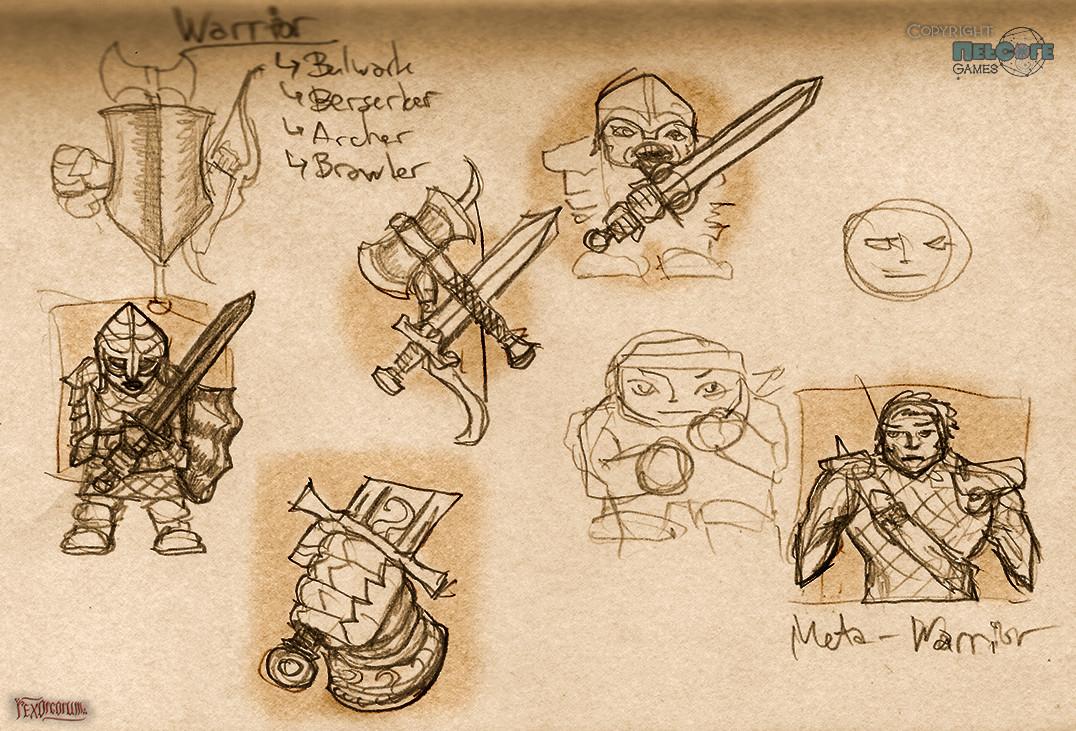Tales of Maj' Eyal class icons ideas