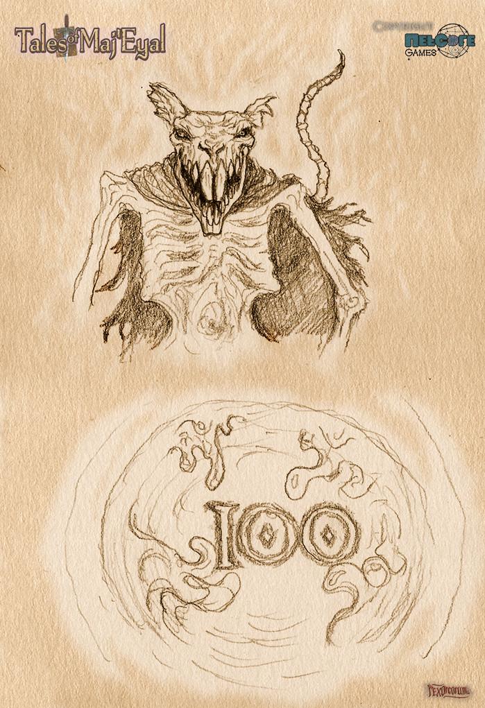 The infamous Rat Lich, 100 slime kills