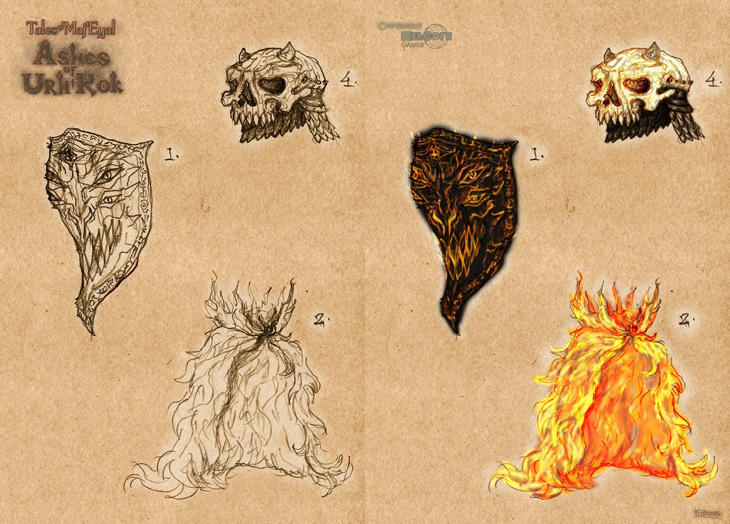 Artifacts (i.e. unique items)