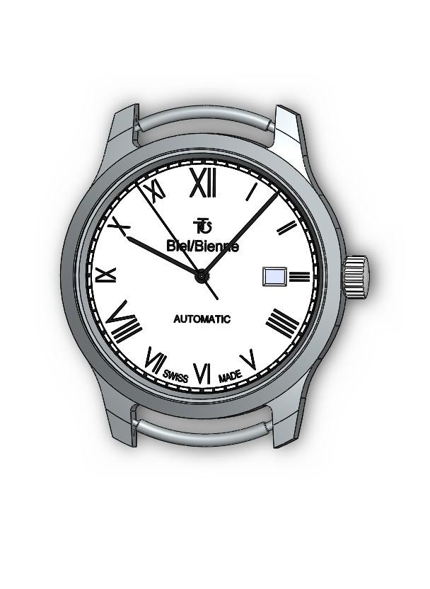 Michiel van ommen 3d model watch project