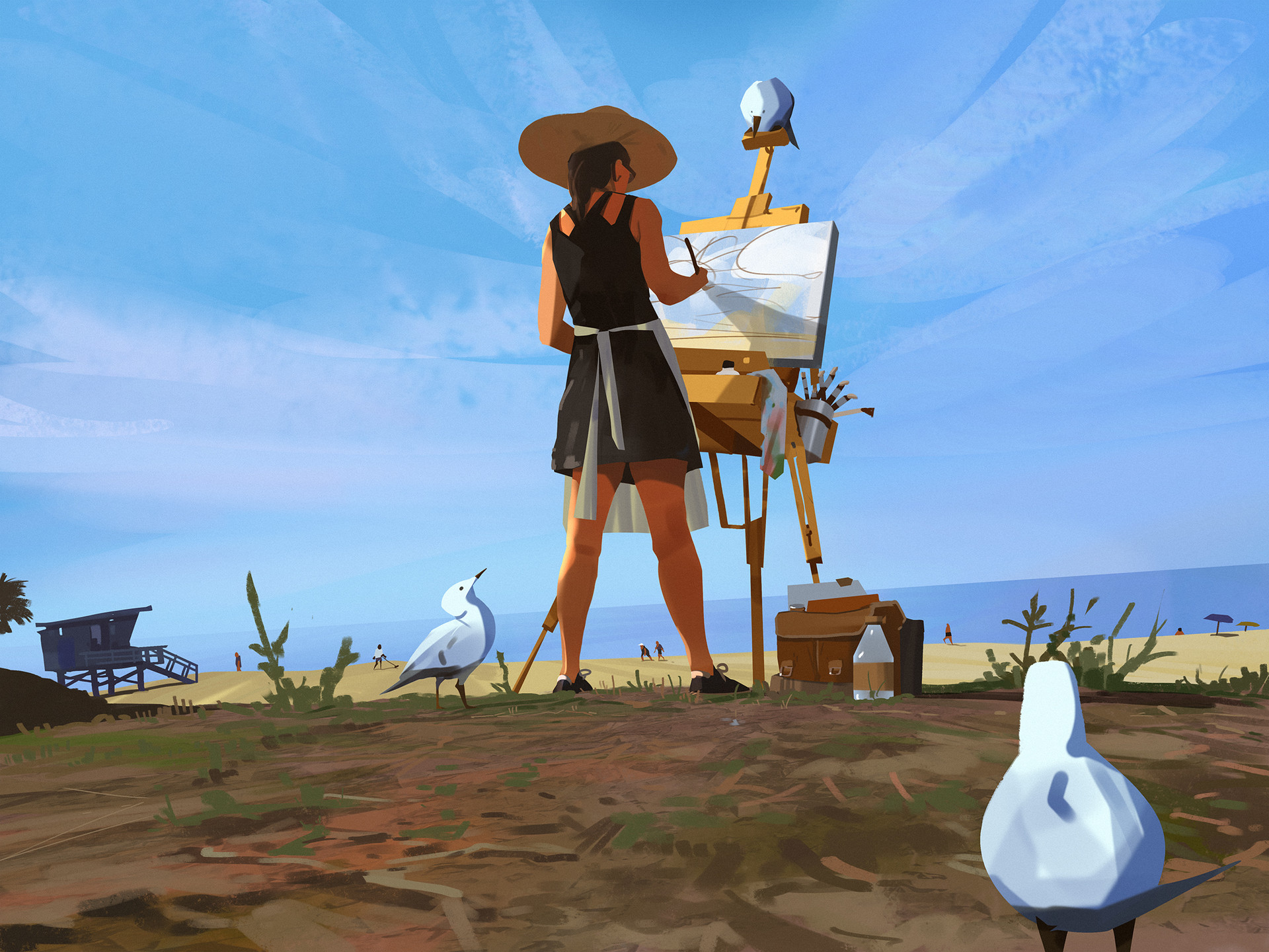 Atey ghailan the artist high res