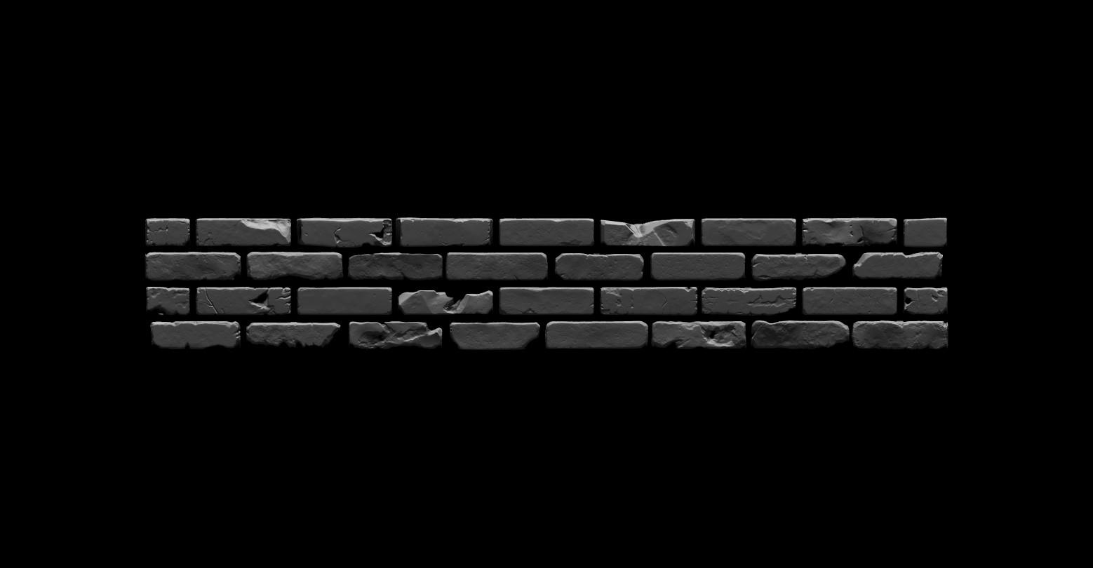 Bela csampai brick wall 01 render zb 04