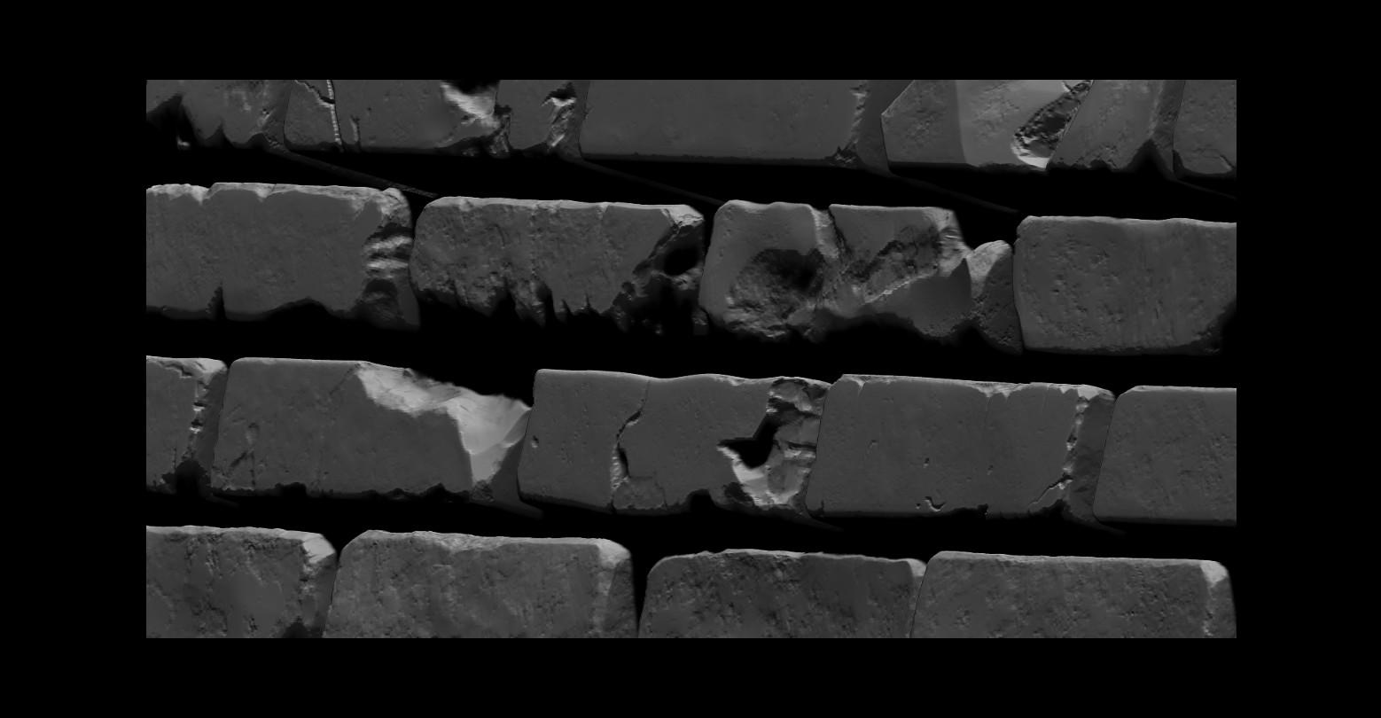 Bela csampai brick wall 01 render zb 06
