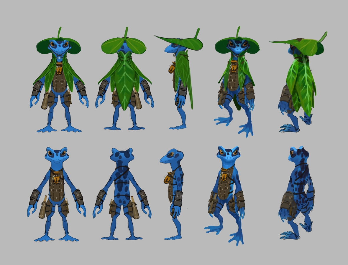 Turnarounds. Fully equipped and without overcoat.