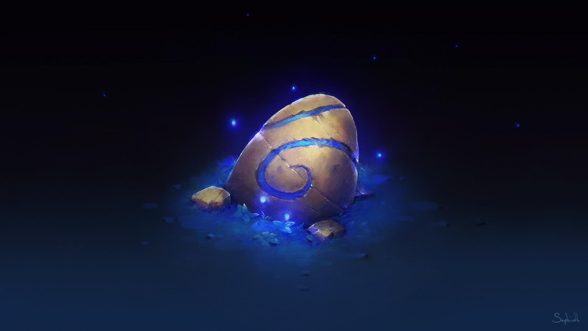 Sephiroth art rune stone