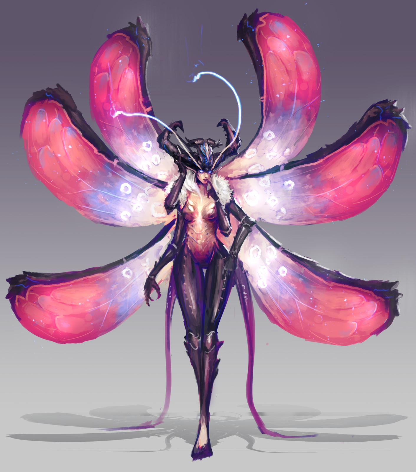 Succubus concept - Insect variation
