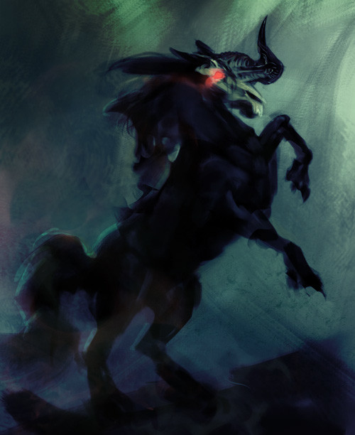 Aurore folny dark horse sketch