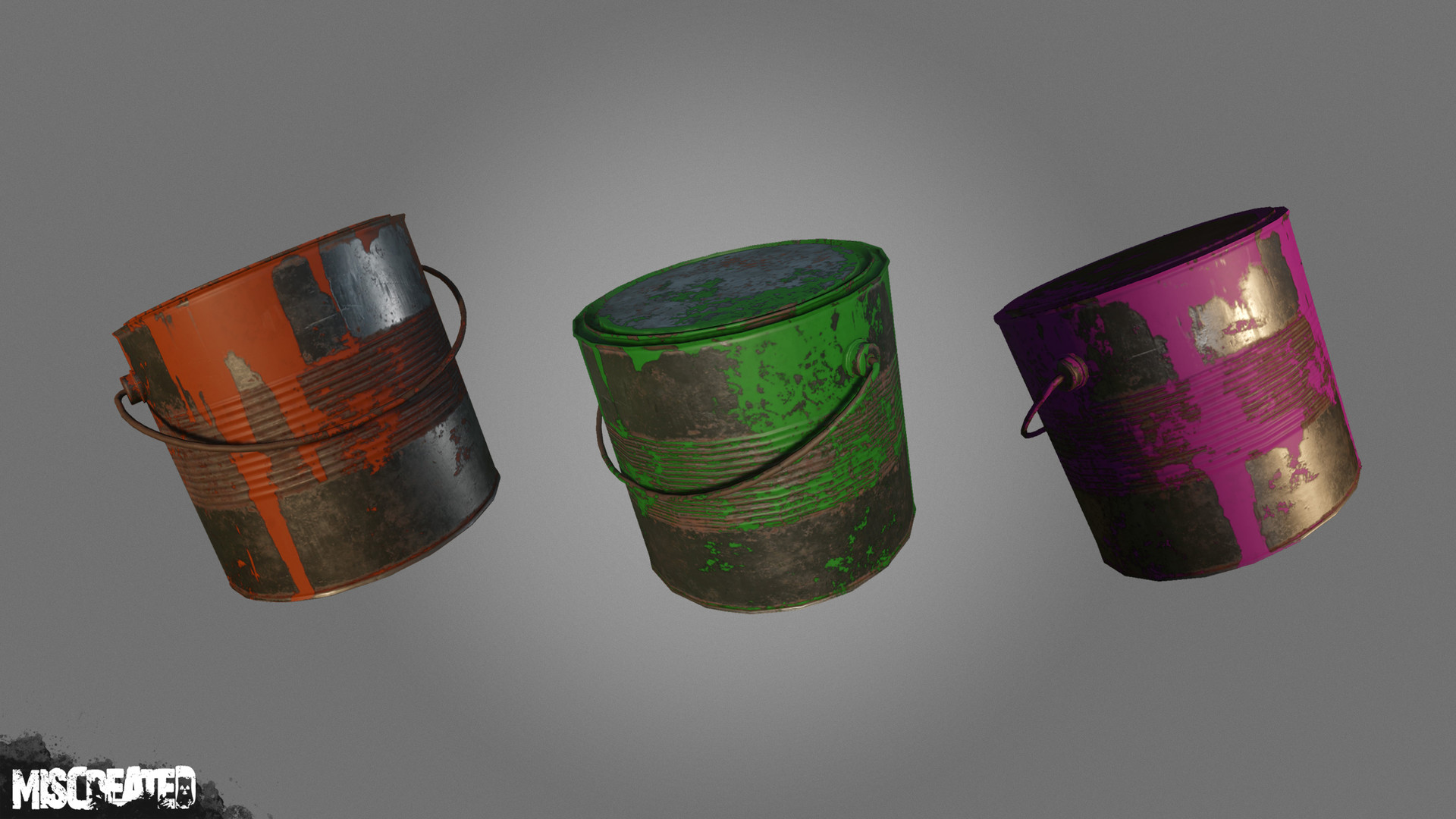Paint Cans will be used for paint modifications in the future