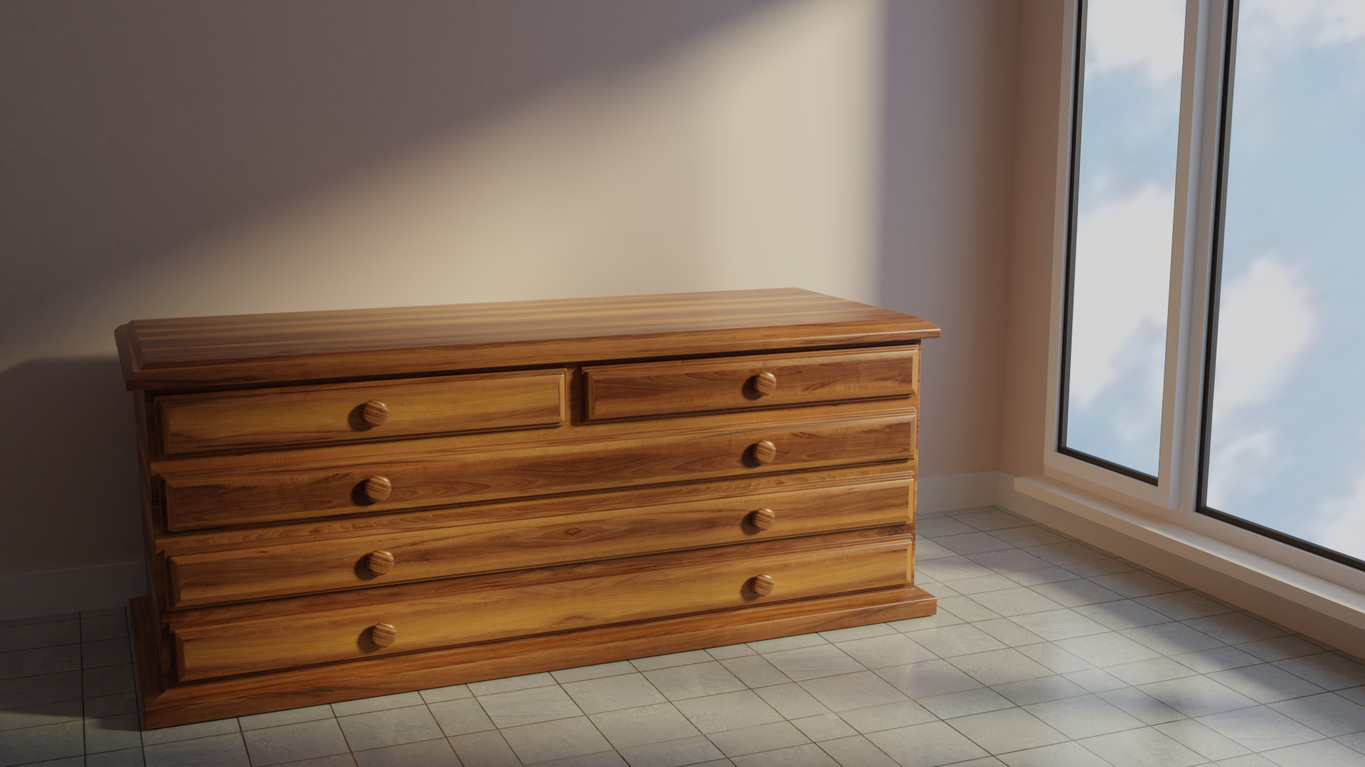 Artstation Piece Of Furniture Leandro Diaz # Muebles Leandro