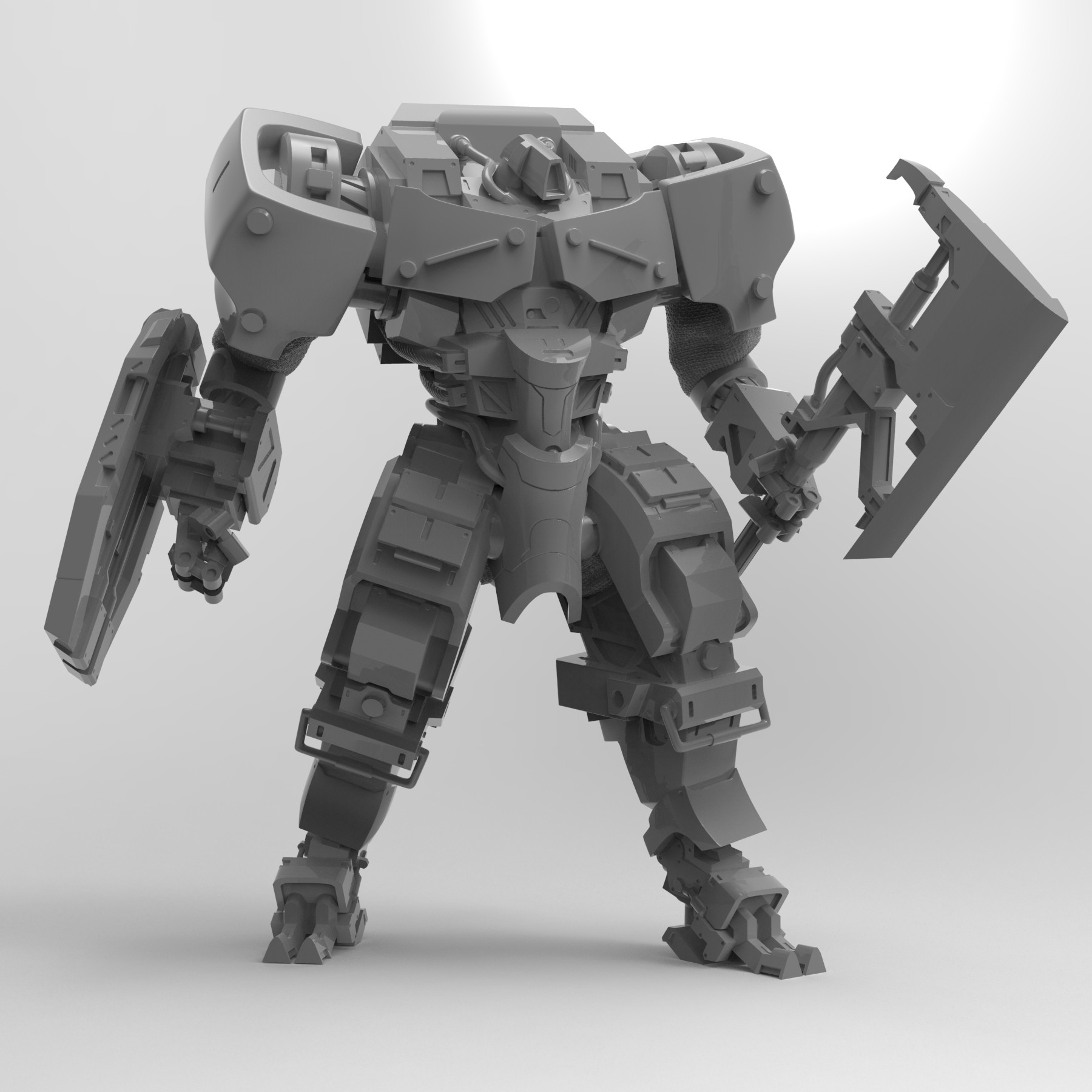Axe Guard Render
