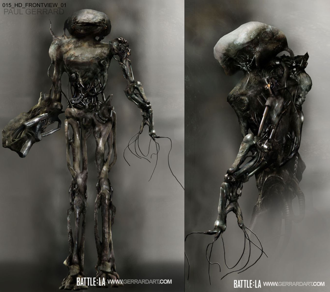 BATTLE LA ALIEN DESIGN