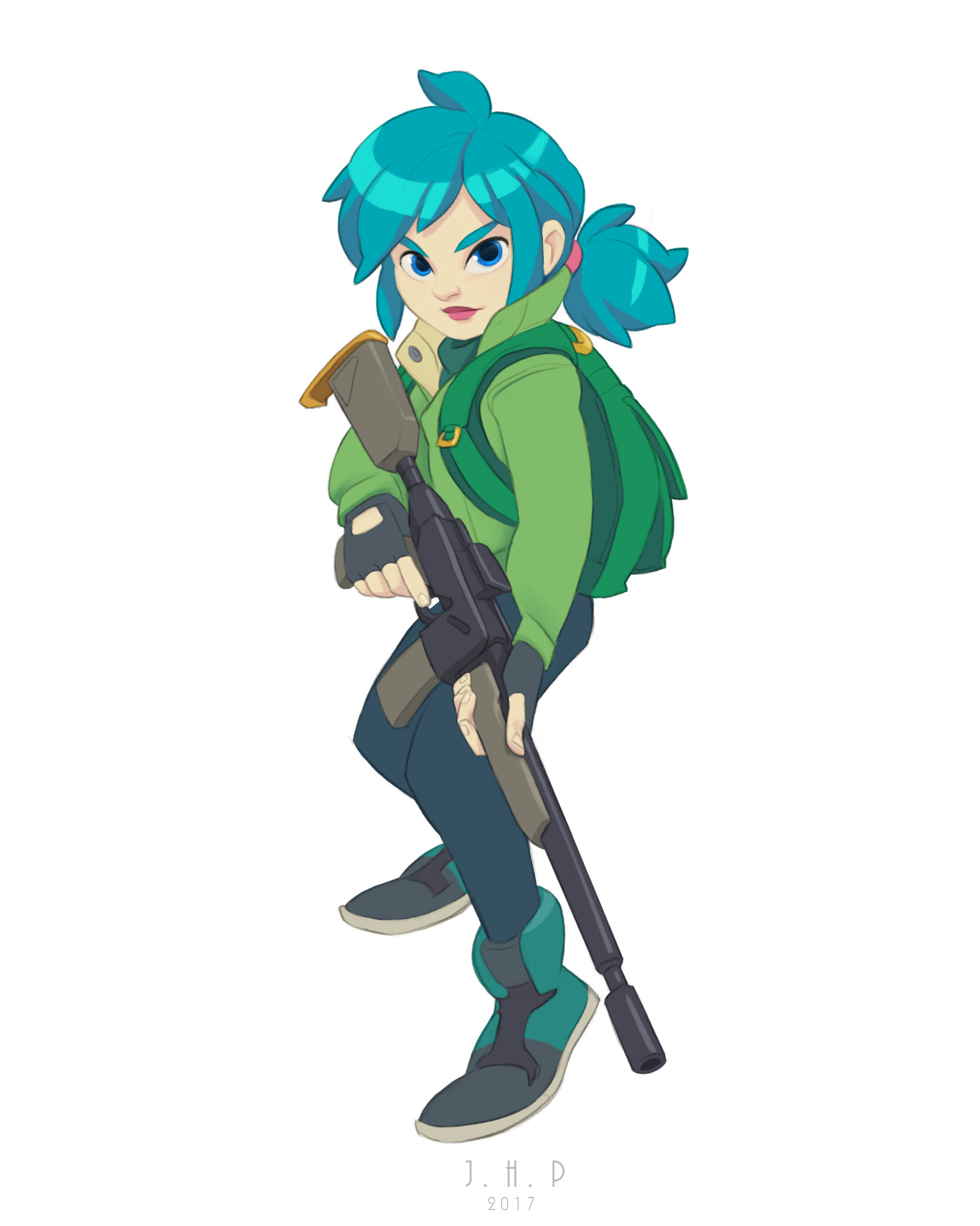 Joao henrique pacheco gun girl