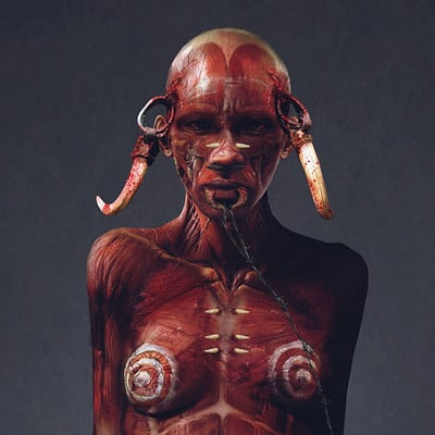 Paul gerrard paul gerrard skinned tribe 01