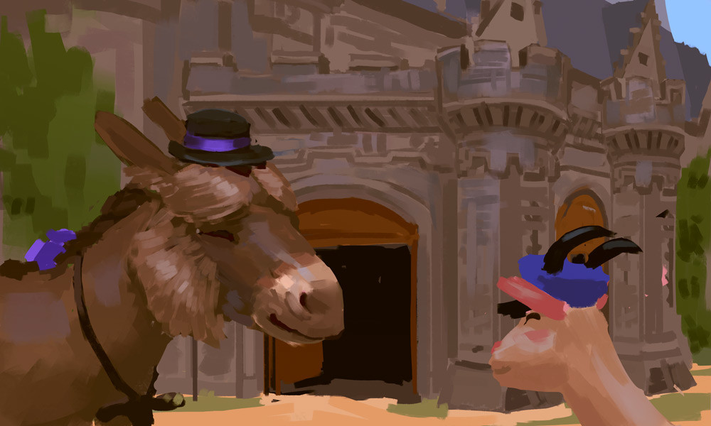 Devin platts donkey castle