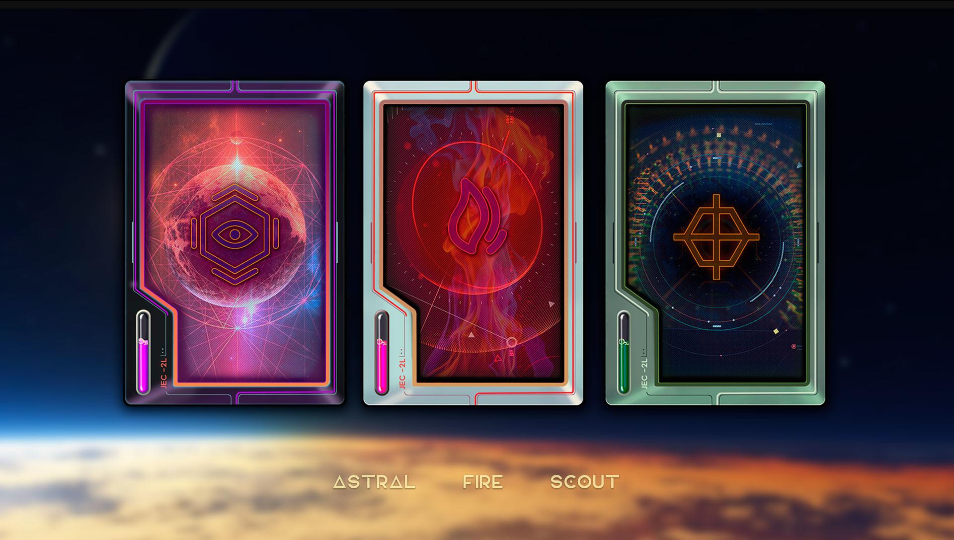 Combo 21 team sci fi cards 3 1