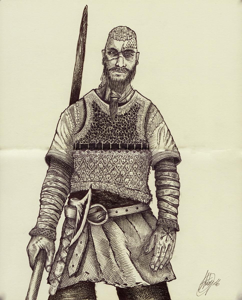 Hector sanchez hector sanchez viking sketchbn hectorsaaz