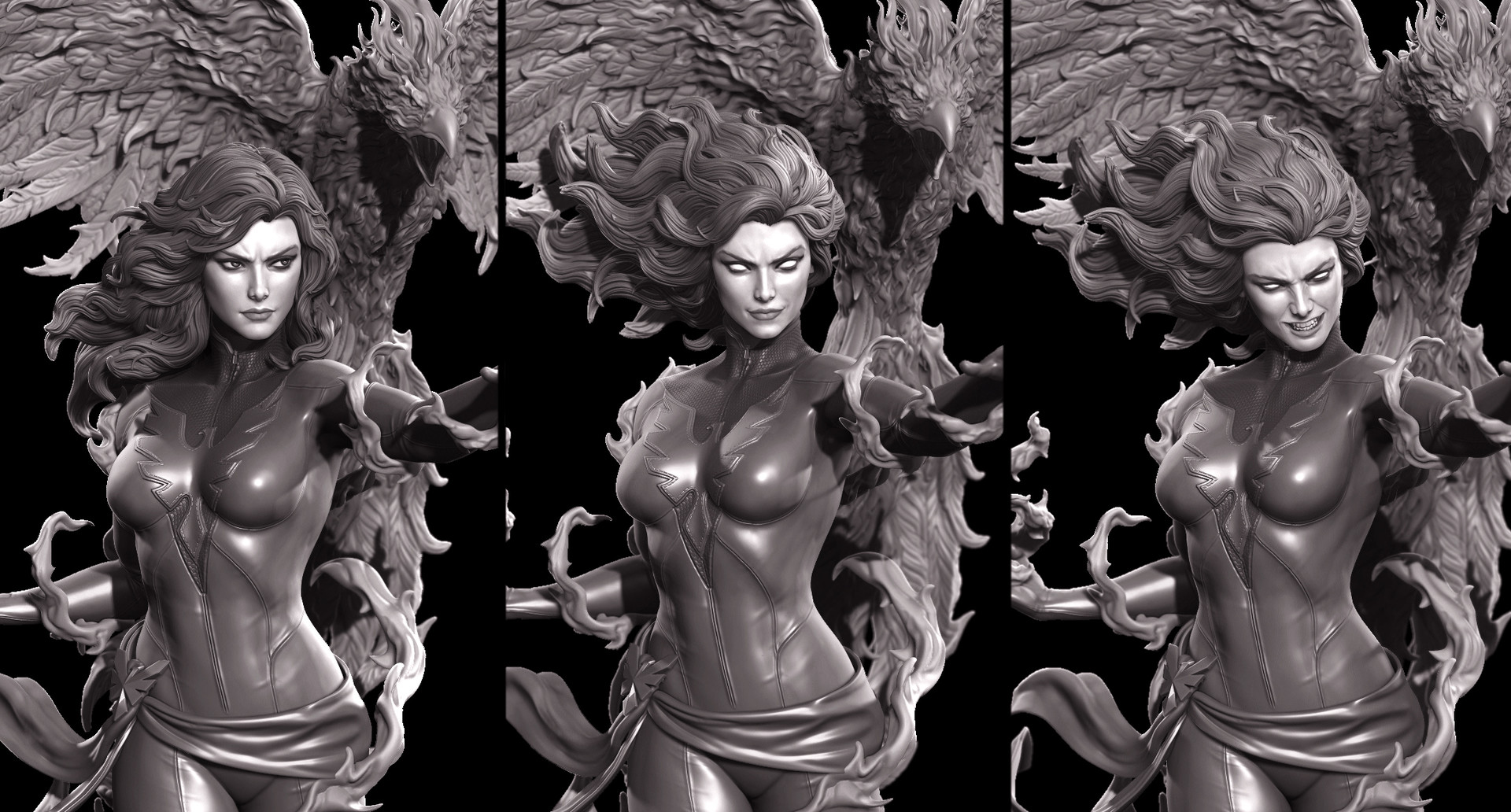 Marthin agusta dark phoenix submission hex switch outs color artstation