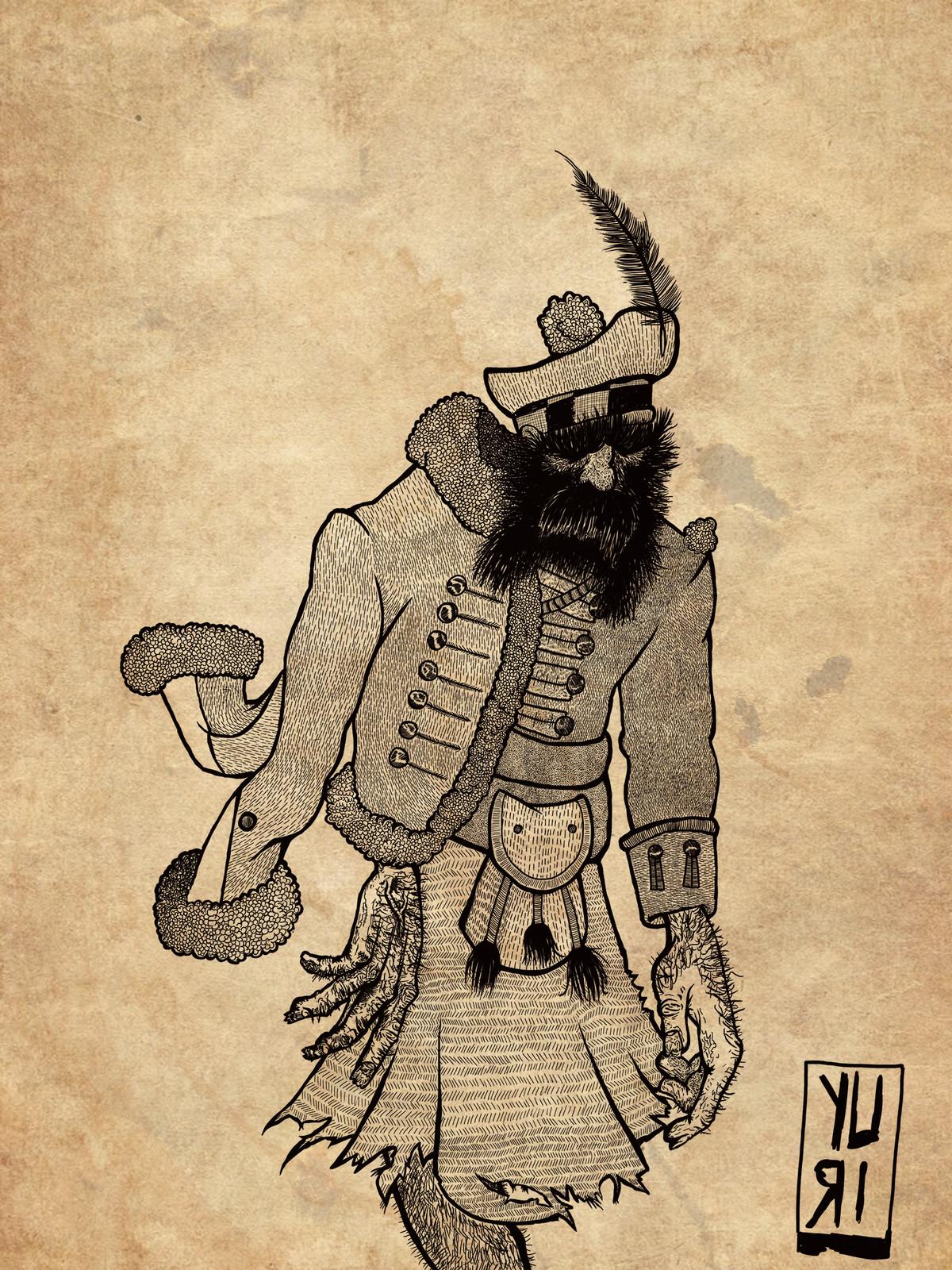 Vurr mercenary in the service of Burning Crown