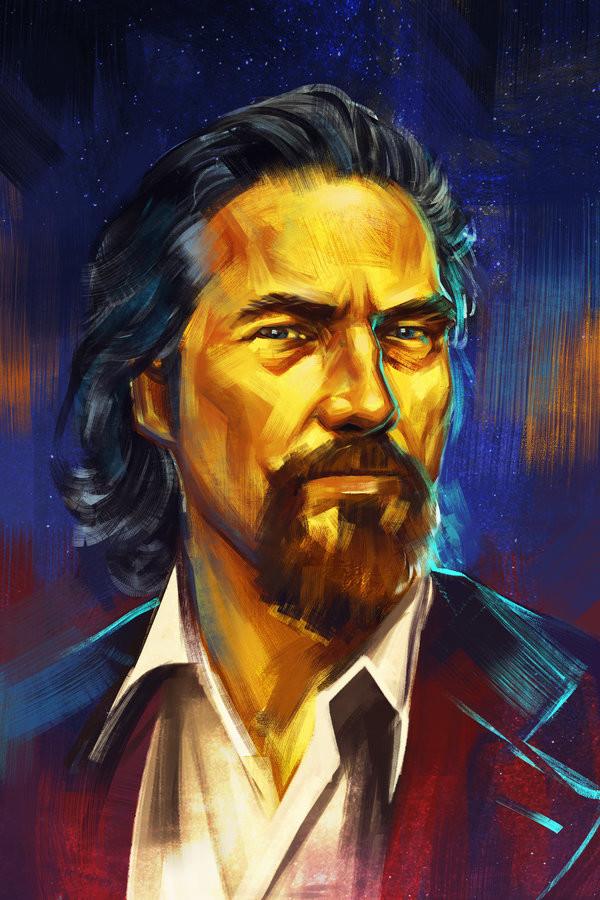 Wojtek depczynski portrait jeff bridges by h1fey dbffnfj