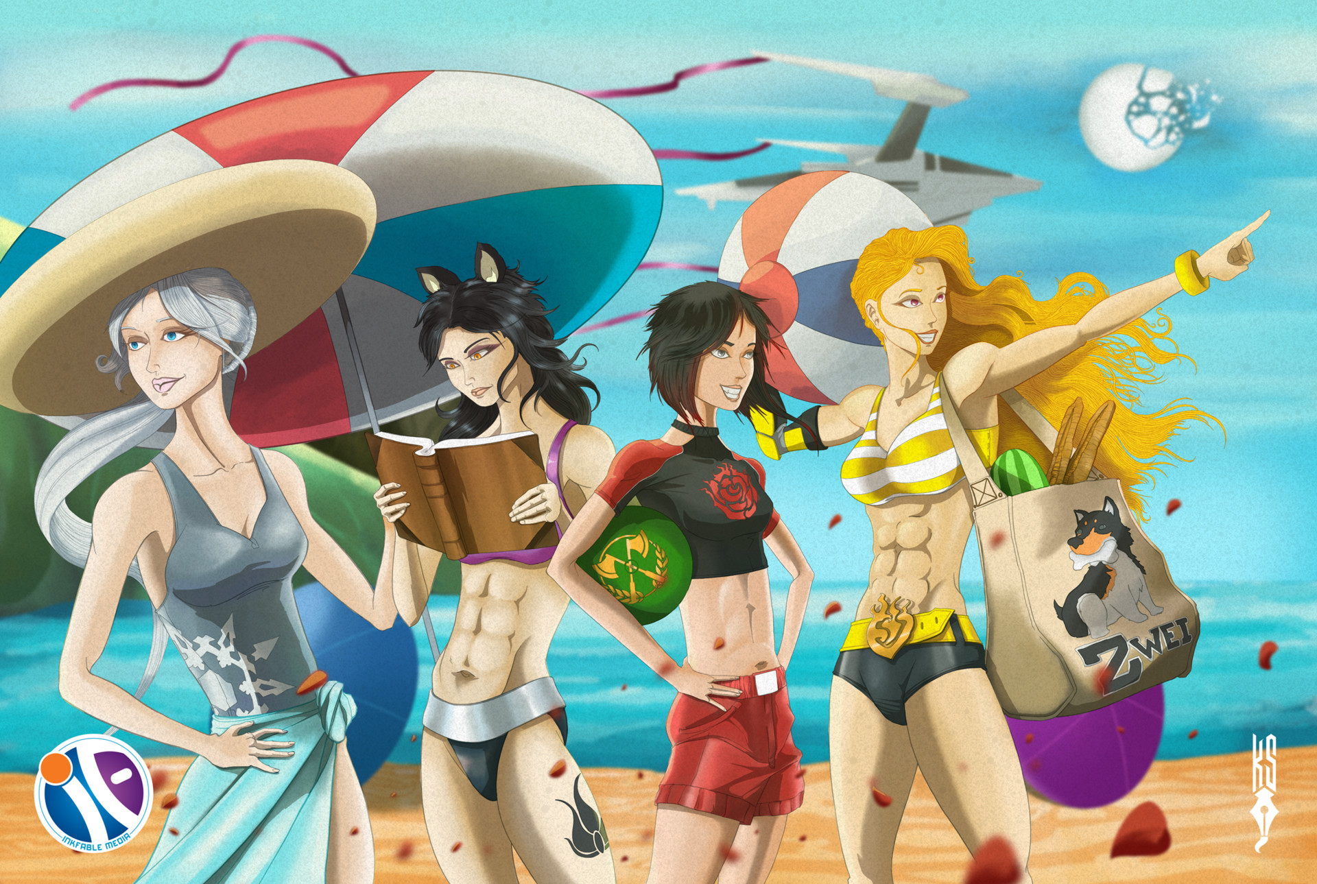 Kyle smith rwby beach day lo