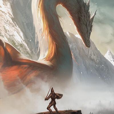 Quentin castel dragon artstation