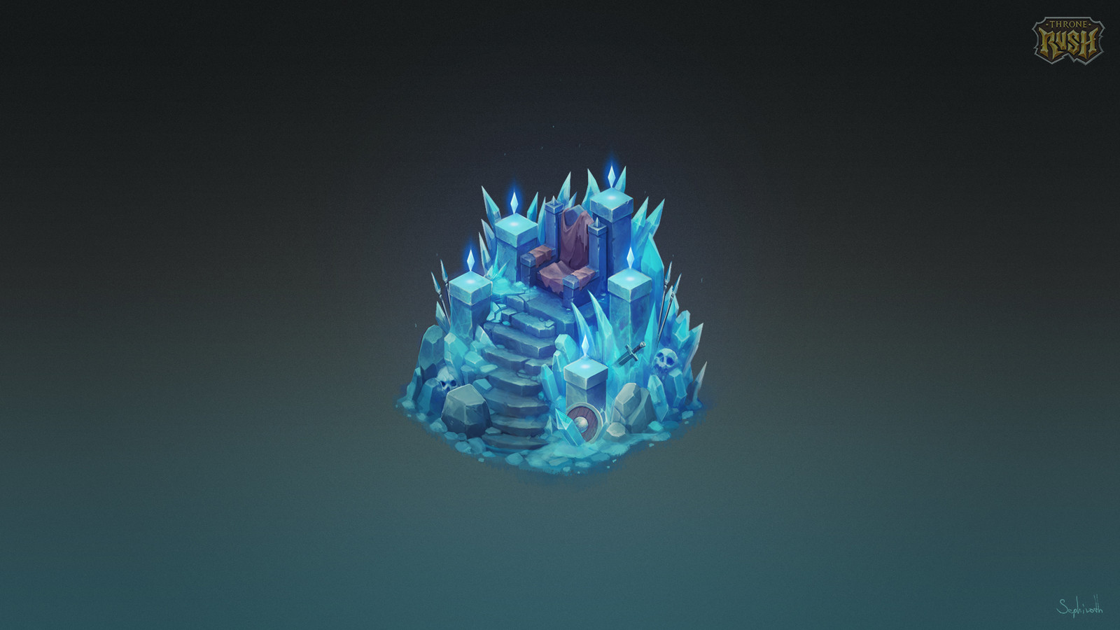 Isometric Frozen Throne