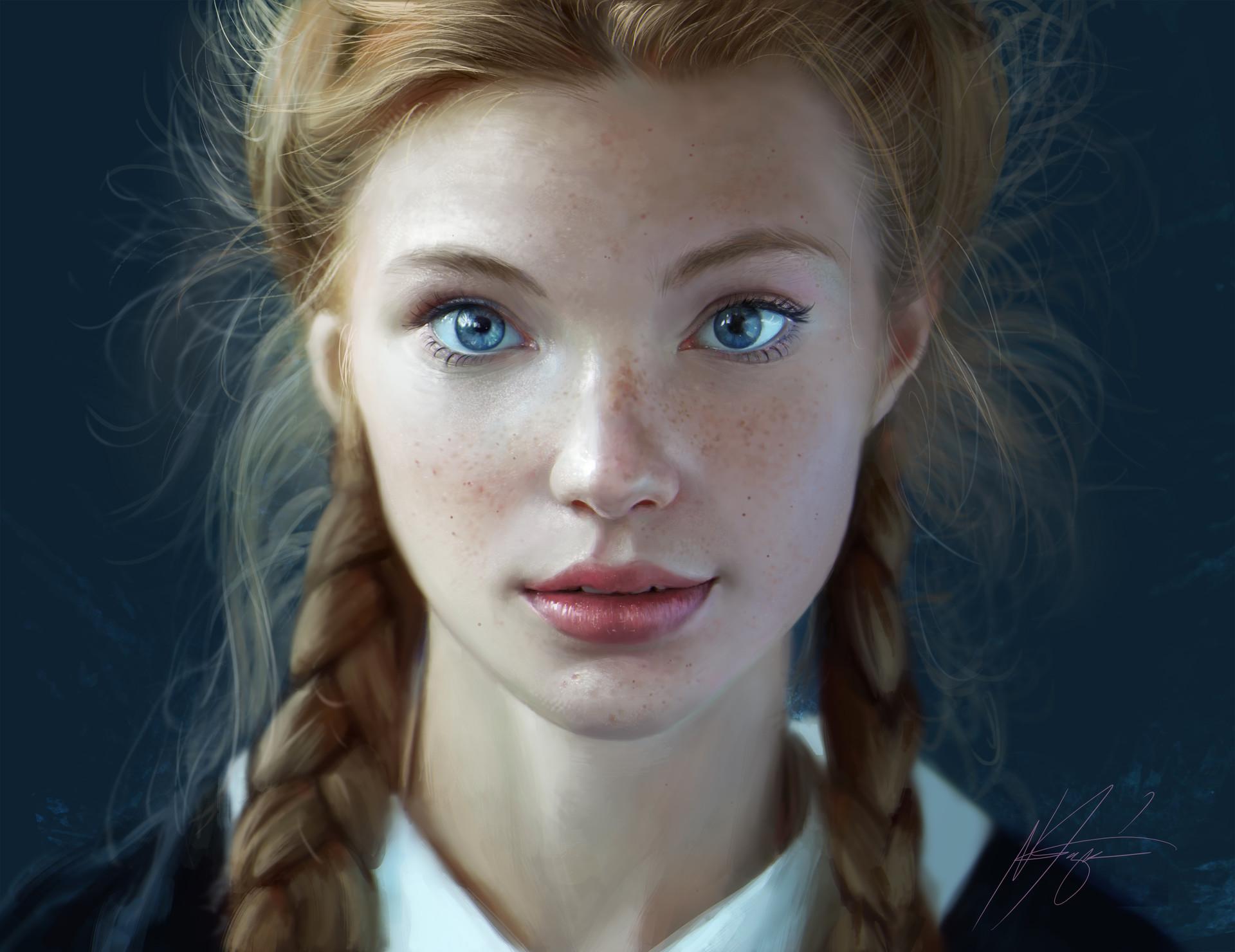 Noveland sayson blue eyes