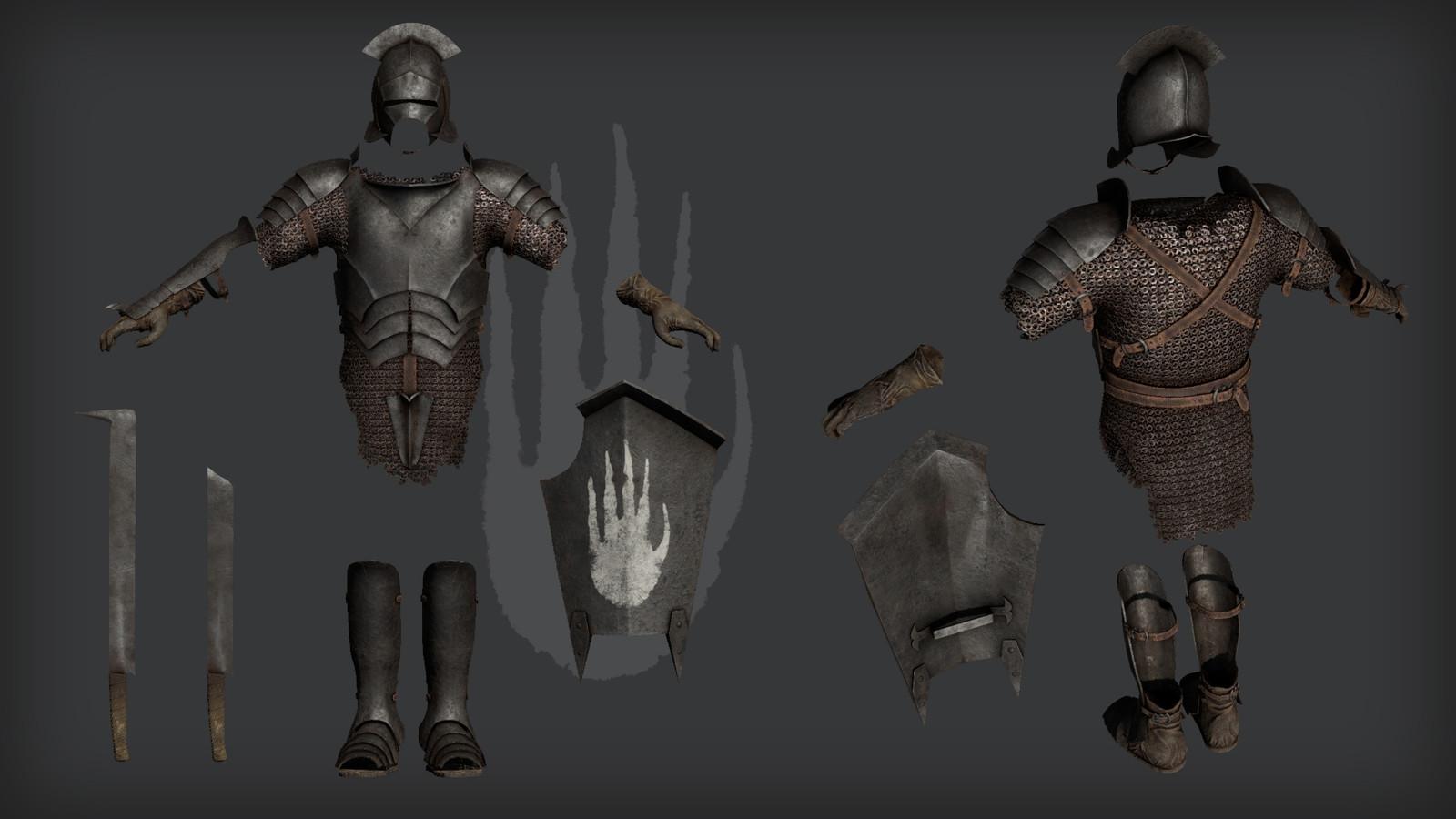 Swordsman rendered in 3DO